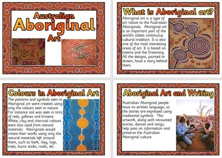 Free Printable Aboriginal Art Posters for Classroom Display