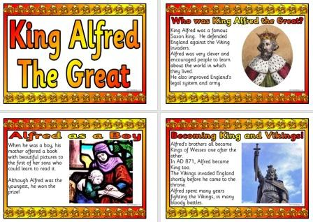 Free Printable Alfred the Great Posters