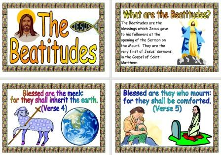 Free Printable Teaching Resource The Beatitudes Posters