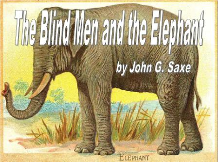 Free Blind Men and the Elephant Poem PowerPoint Presentation