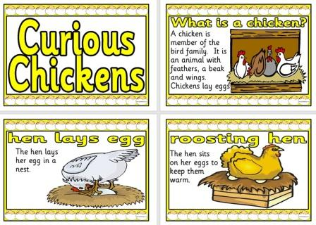 Free Printable Chickens Posters