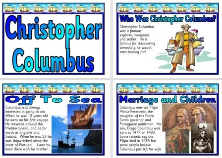 Free History Resource Christopher Columbus posters
