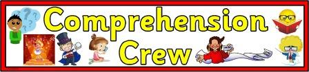 Free Printable Comprehension Crew Banner