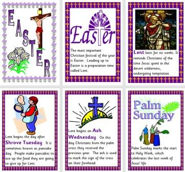 Free Printable Easter Information Posters