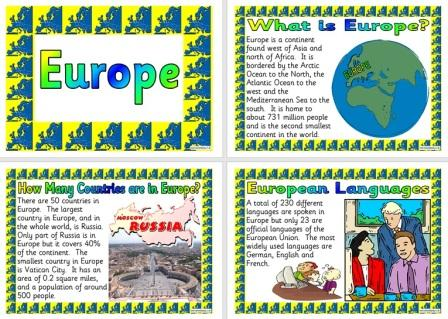 Free printable Posters about Europe