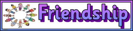 Free Printable Banner Friendship
