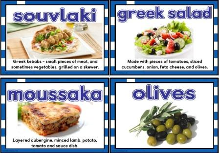 Foods of the World - Greece  Greek Food