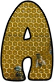Bee Hive Display Lettering