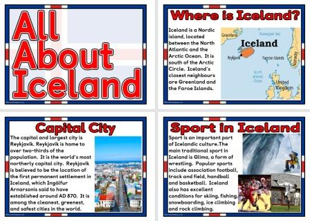 Free printable Posters about Iceland