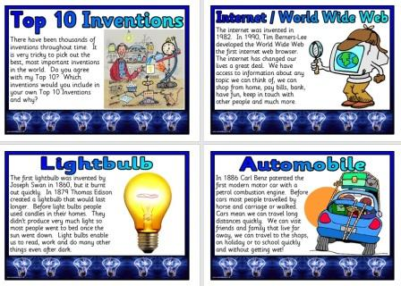 Top 10 Inventions Posters
