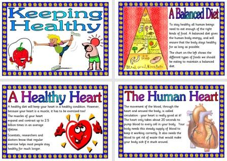 Free Science Posters Keeping Healthy