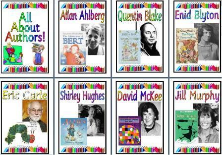Free KS1 Authors Posters