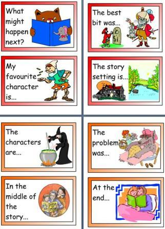 Free printable KS1 Story Hooks teaching resource