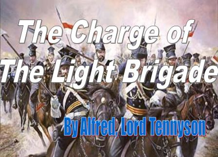The Charge of The Light Brigade PowerPoint Presentation
