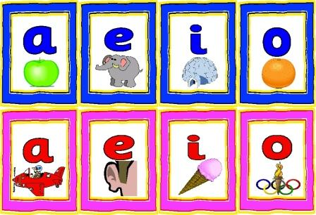 Free Long and Short Vowels Display Set