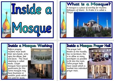 Free Printable Religious Education Posters - Inside a Mosque