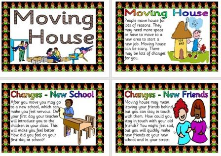 Free Printable Moving House Information Posters