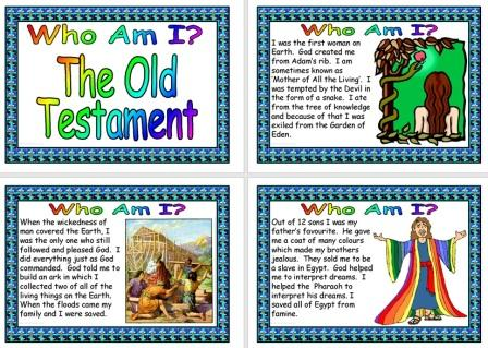 Free Printable Old Testament Characters Posters Information