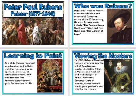 Free Biography of the artist Peter Paul Rubens