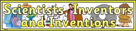 Scientists, Inventors and Inventions Banner