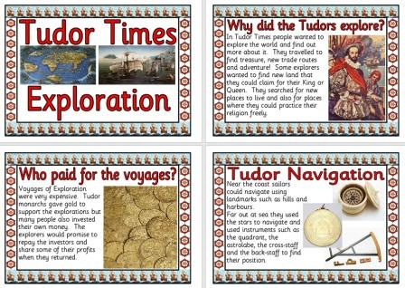Free printable Tudor Exploration Posters