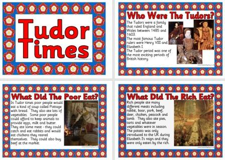 Free History Teaching Resource Tudor Times Printable Posters for Classroom Display
