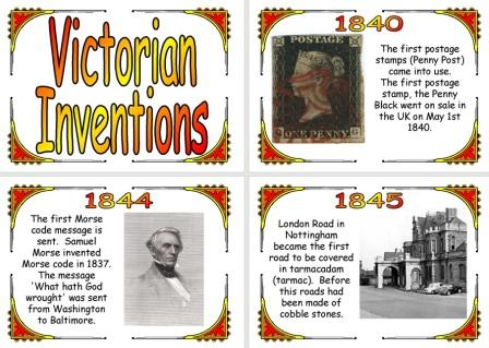 Victorian Inventions Timeline