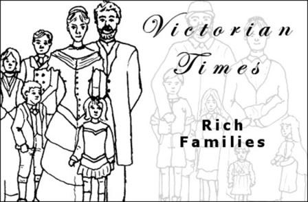 Victorian Rich Families PowerPoint