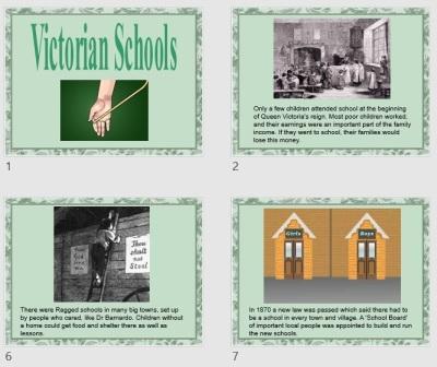 Victorian Schools PowerPoint Presentation