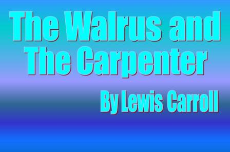The Walrus and the Carpenter PowerPoint