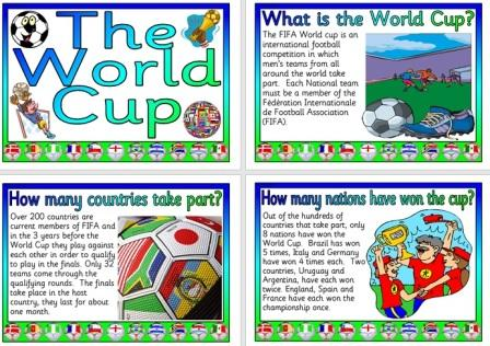 Free Printable World Cup information Posters
