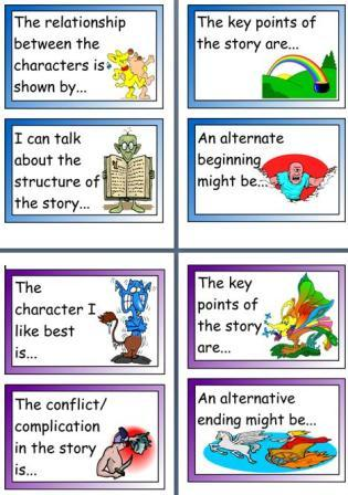 Free printable teaching resources, Y5/6 Story Hooks